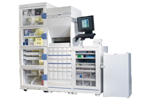MedSelect Flex automated medication dispensing cabinet